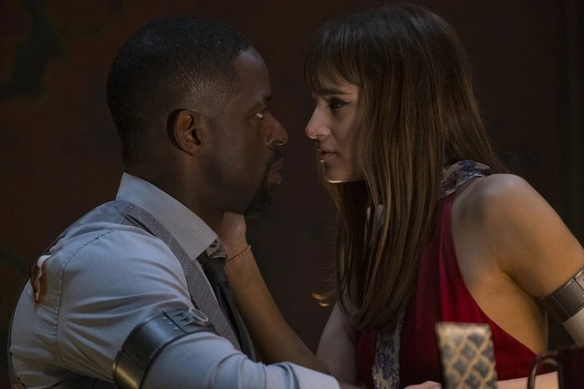 hotel-artemis-trailer-sterling-k-brown-and-sofia-boutella