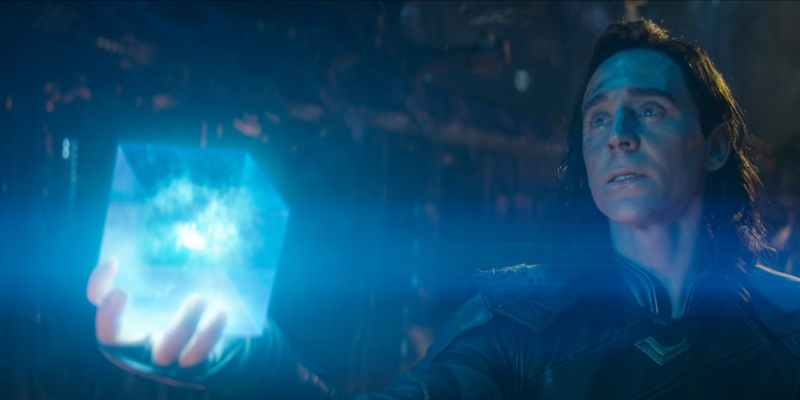 loki tesseract avengers infinity war