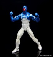 marvel legends cosmic spider-man figure review - cosmic spider-man about to fly