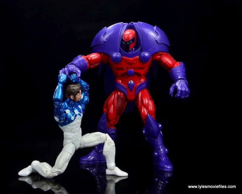 marvel legends cosmic spider-man figure review -fighting onslaught