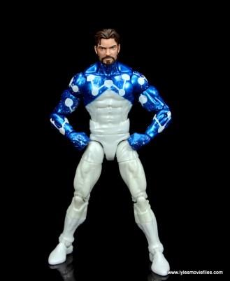 marvel legends cosmic spider-man figure review - peter parker with hands on hips