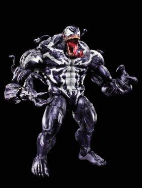 marvel legends venom wave -baf venom full