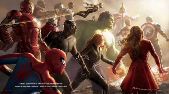marvel studios connected to avengers infinity war