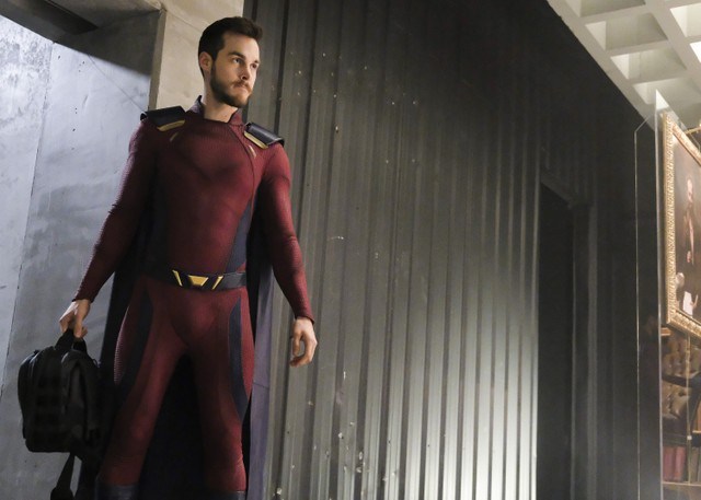 supergirl shelter from the storm - mon-el