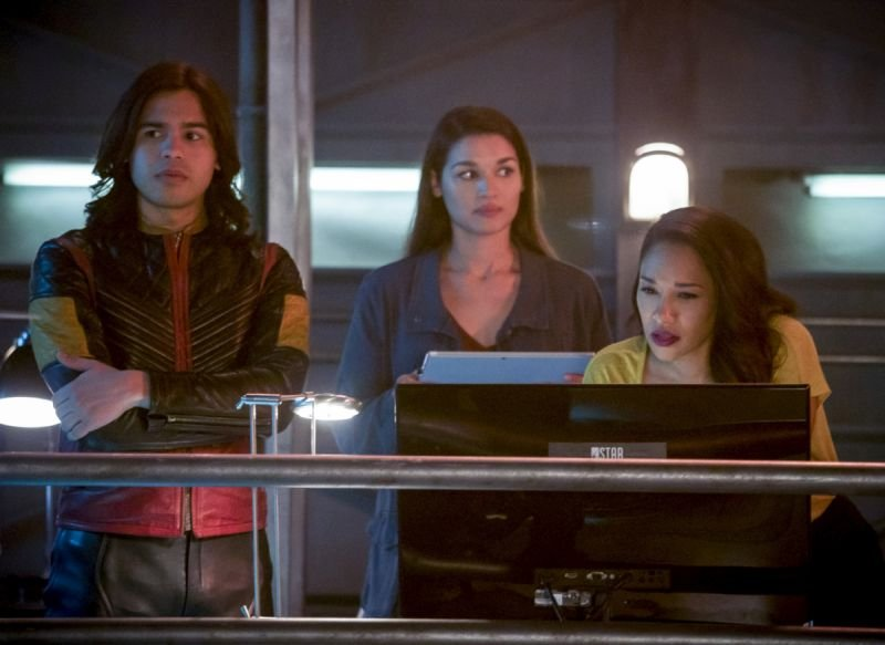 the flash we are the flash review - cisco, marlize and iris