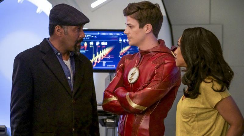 the flash we are the flash review -joe, barry and iris