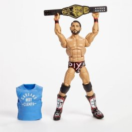 wwe hall of champions johnny gargano with accessories