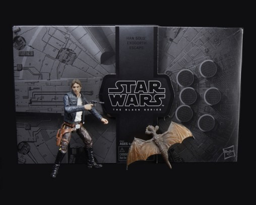 STAR WARS THE BLACK SERIES HAN SOLO AND MYNOCK Figures - oop2_v1_current