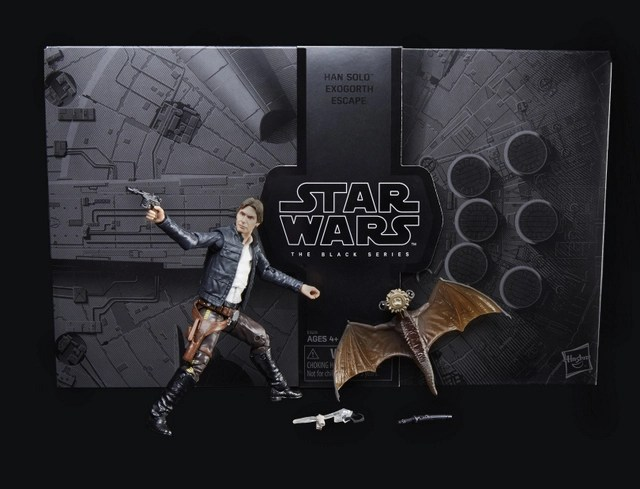 Star Wars San Diego Comic Con 2018 exclusives STAR WARS THE BLACK SERIES HAN SOLO AND MYNOCK Figures - oop1_v1_current