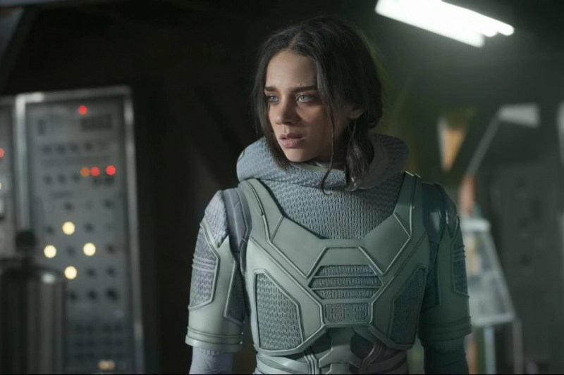 ant-man and the wasp movie review -hannah john-kamen as ghost