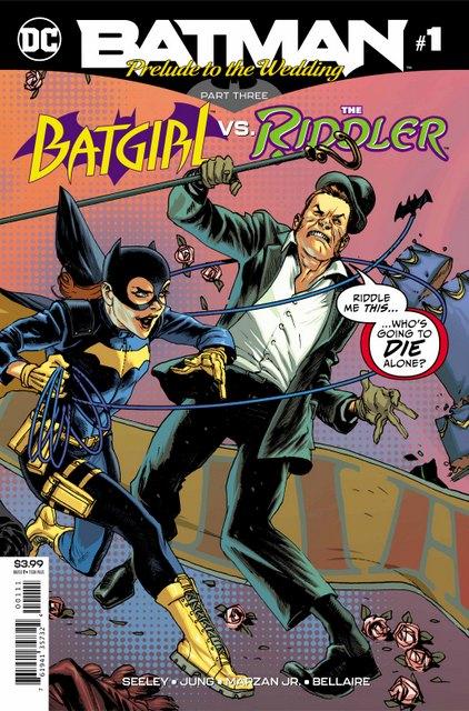 batman prelude to the wedding batgirl vs riddler