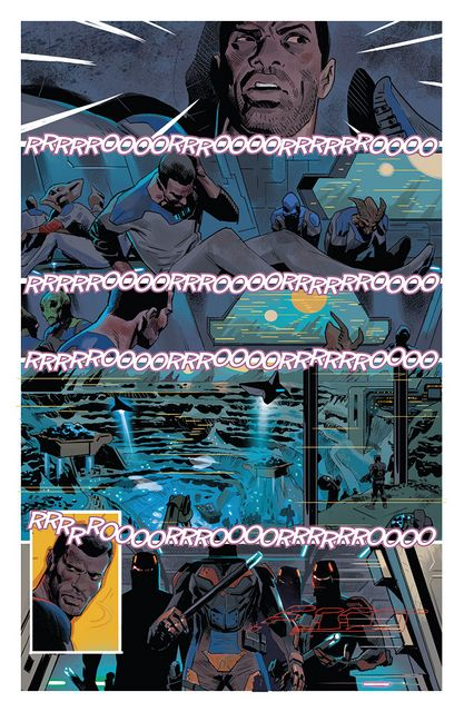 black panther #1 interior pages