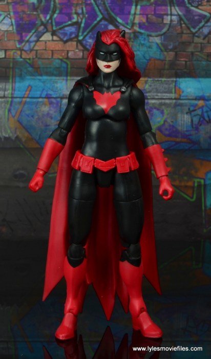 dc multiverse batwoman figure review - front