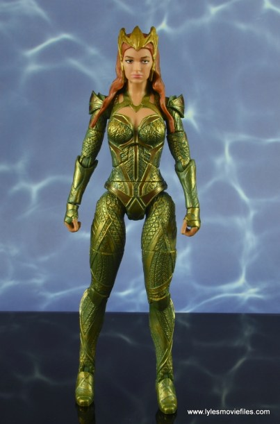 dc multiverse mera figure review - front