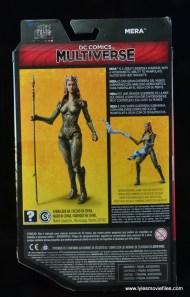 dc multiverse mera figure review - package rear