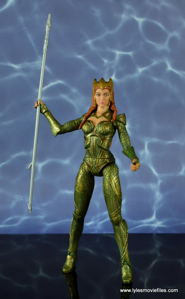 dc multiverse mera figure review - with spear