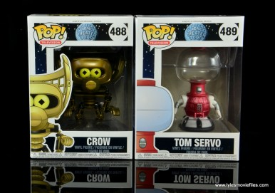 funko pop crow t. robot and tom servo figure review - package front