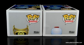 funko pop crow t. robot and tom servo figure review - package top