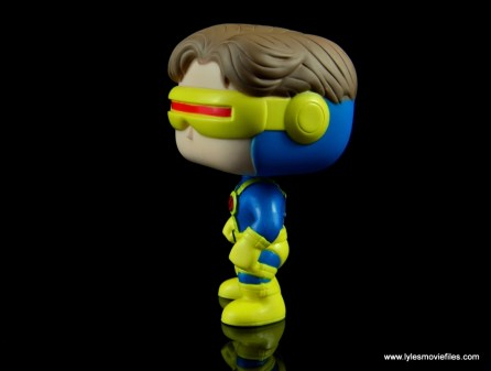 funko pop cyclops figure review - left side