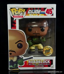 funko pop gi joe roadblock figure review - package front