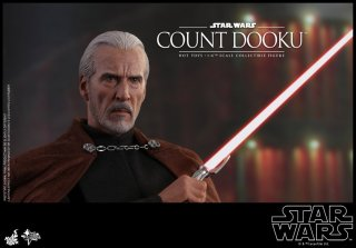 hot toys attack of the clones count dooku figure -main pic