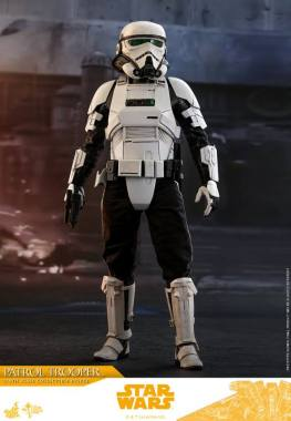 hot toys solo a star wars story patrol trooper figure -full detail