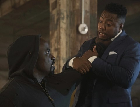 luke cage all souled out review - luke getting mad