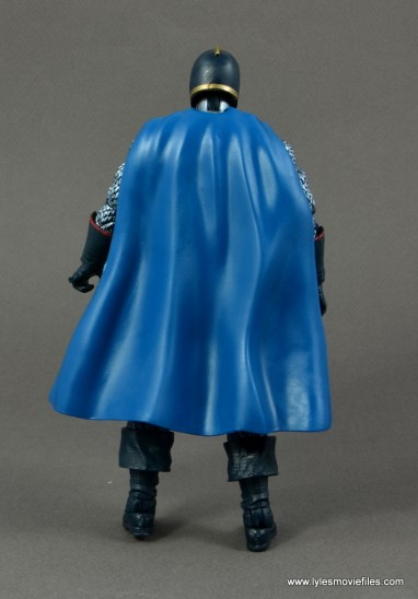 marvel legends black knight figure review -rear