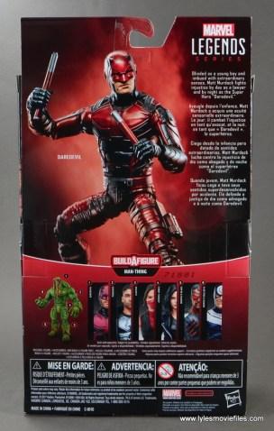marvel legends netflix daredevil figure review -package rear
