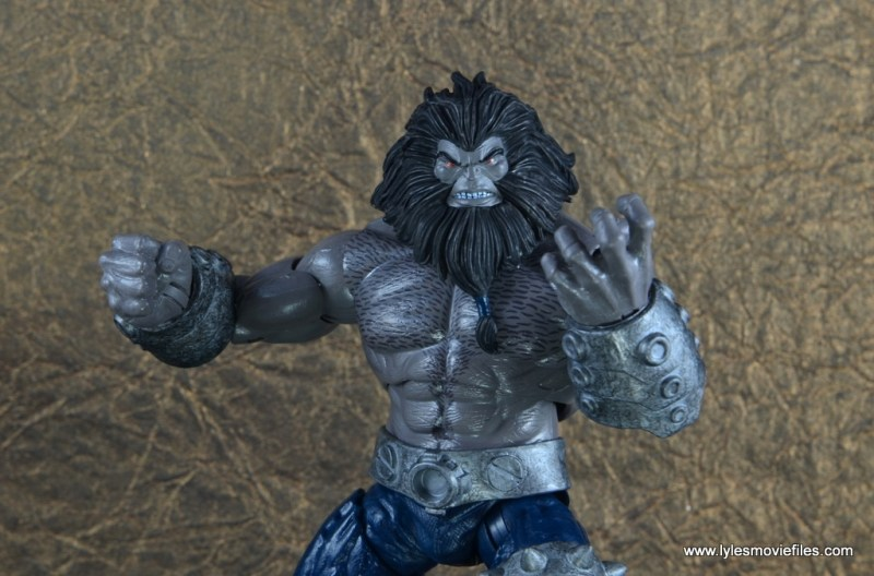 marvel legends the thanos imperative sdcc set review - blastaar close up
