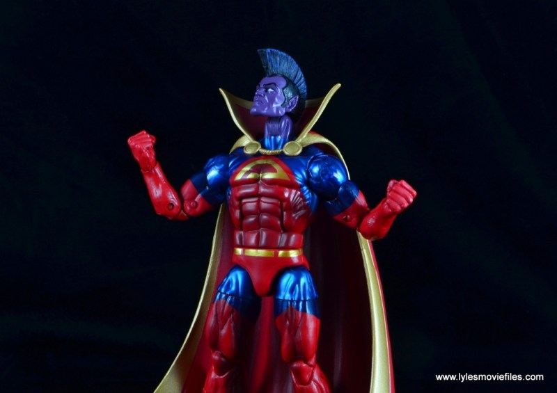 marvel legends the thanos imperative sdcc set review - gladiator about to fly