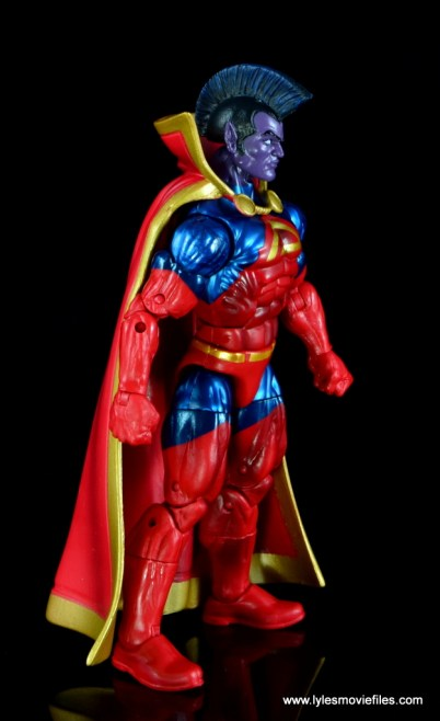 marvel legends the thanos imperative sdcc set review - gladiator rear