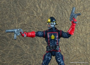 marvel legends the thanos imperative sdcc set review - star-lord aiming