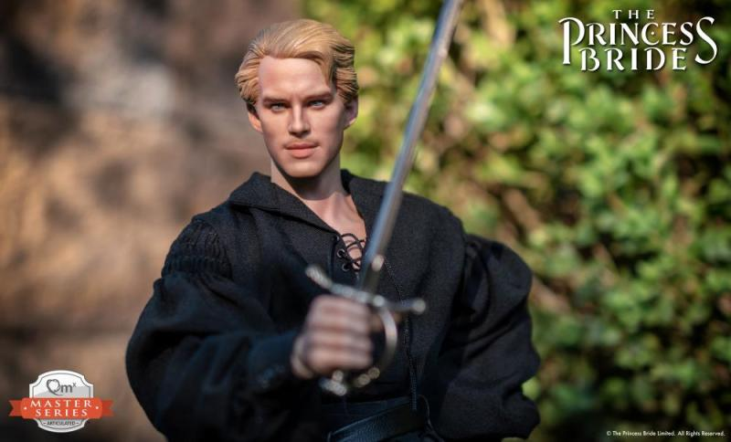 the princess bride the dread pirate roberts figure -ready for battle