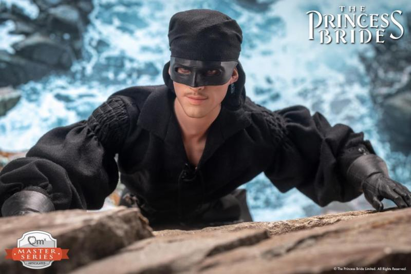 the princess bride the dread pirate roberts figure -scaling mountain