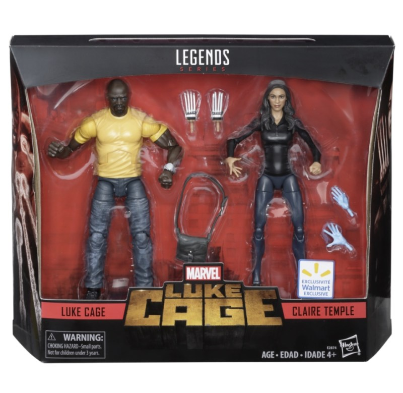 marvel legends cage and claire temple
