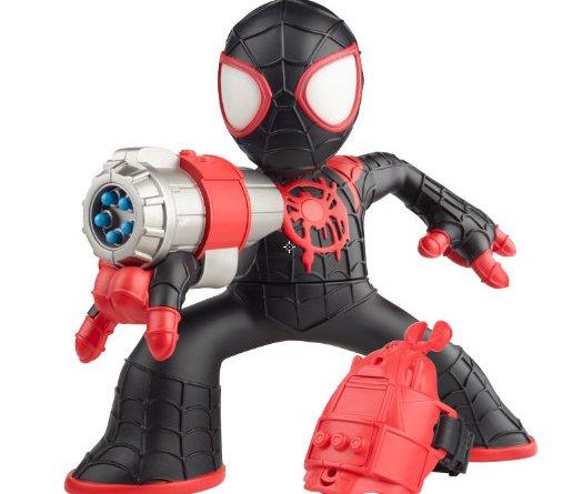 MARVEL SPIDER-MAN INTO THE SPIDER-VERSE SHOCK STRIKE MILES MORALES SPIDER-MAN Figure - oop