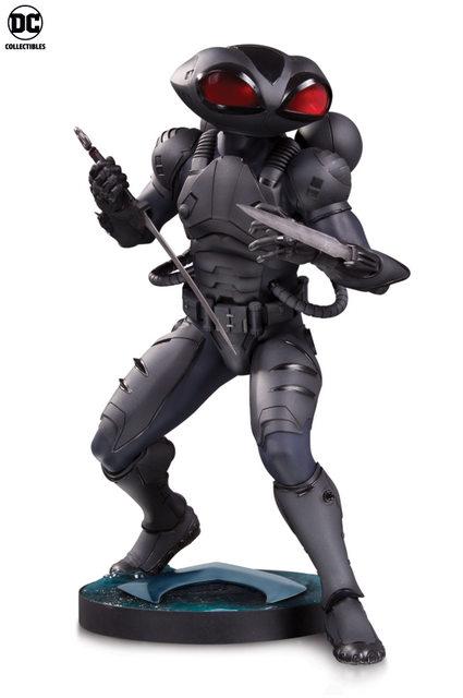 aquaman movie statues - black manta