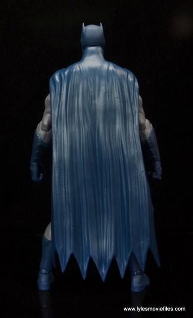 dc essentials batman figure review -cape rear