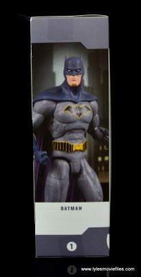 dc essentials batman figure review -package side