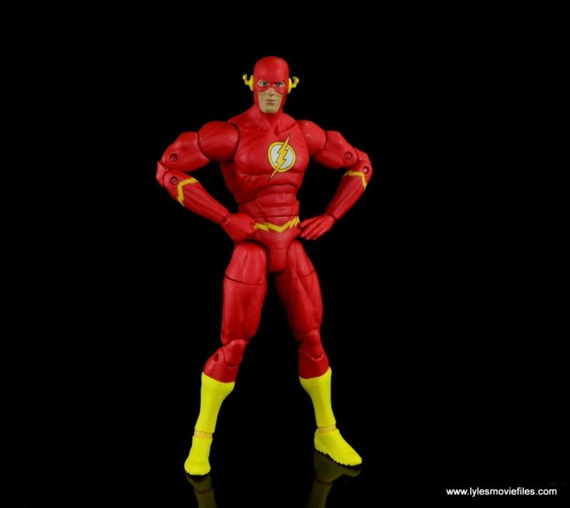 dc essentials the flash figure review -heroic pose