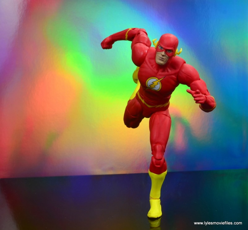 dc essentials the flash figure review - in the speed force