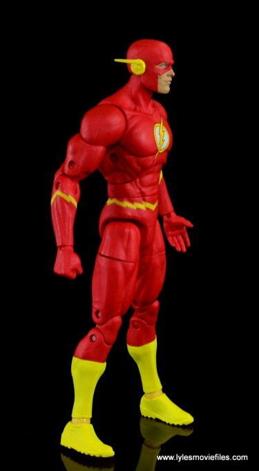 dc essentials the flash figure review - right side