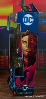 dc multiverse two-face figure review -package right side