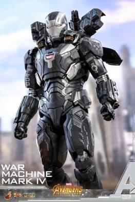hot toys avengers infinity war war machine figure -arsenal out