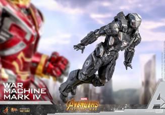 hot toys avengers infinity war war machine figure -flying
