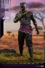 hot toys black panther t'chaka figure -claw hand up