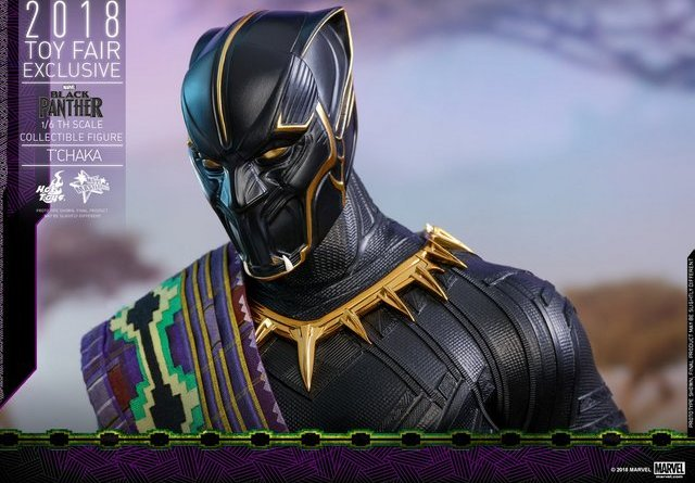 hot toys black panther t'chaka figure -outfit close up