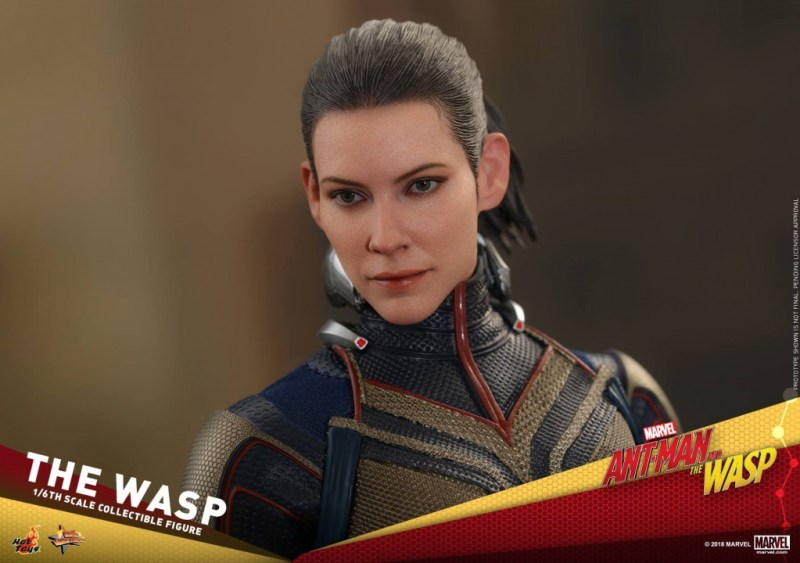 hot toys the wasp figure -face detail