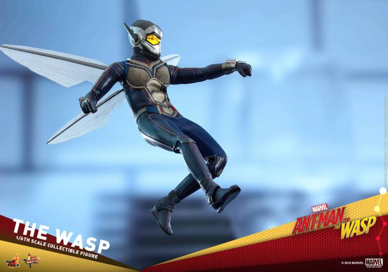 hot toys the wasp figure -shooting blaster